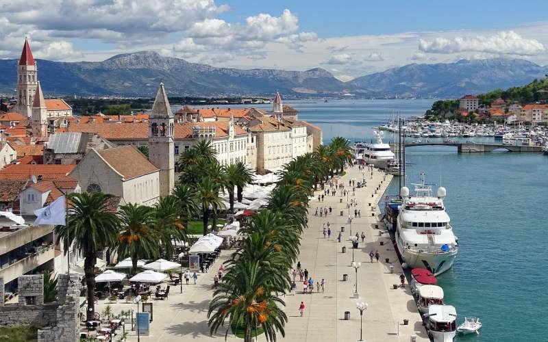 Trogir, ein Steinjuwel aus Mitteldalmatien