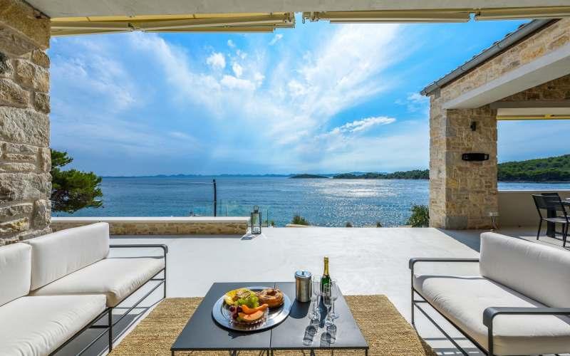 Ferienhaus Kroatien direkt am Meer