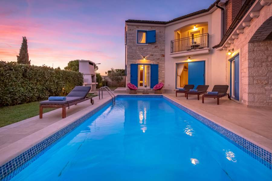 Finden Sie ein perfektes Ferienhaus mit Pool in Kroatien
