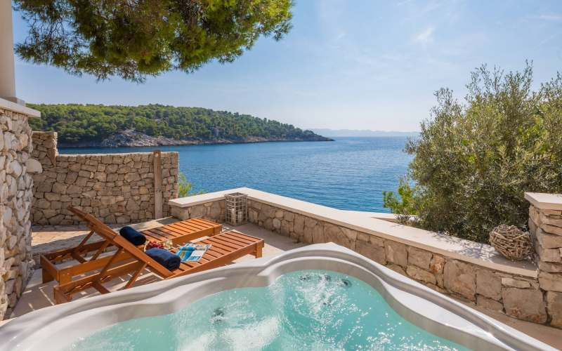 Dalmatian villas are a delightful haven on their own