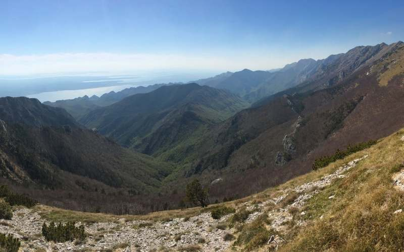 National Park Northern Velebit and the area