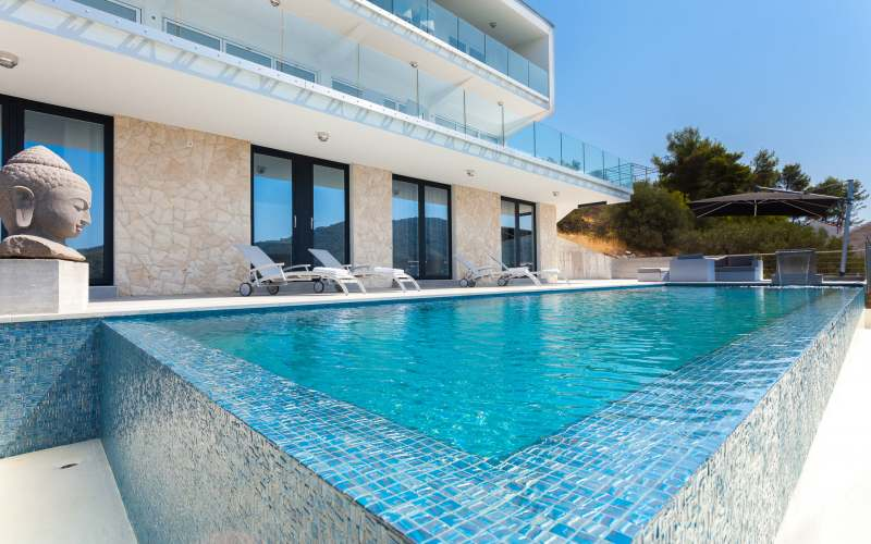 Find your inner peace in Zadar county villa